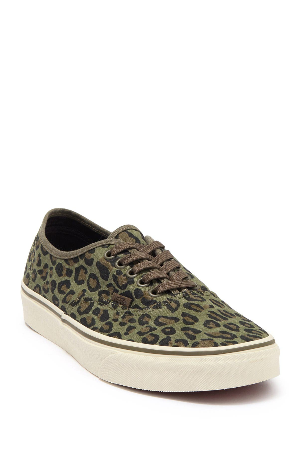 Image of VANS Authentic J.Crew Leopard Print Lace-Up Sneaker