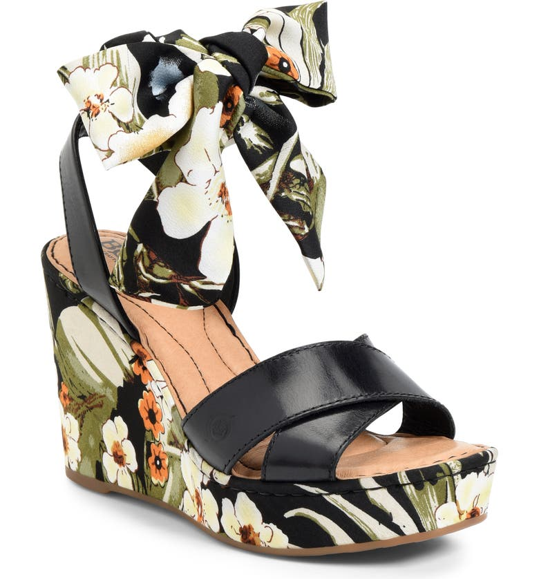 BØRN Salton Platform Wedge Sandal, Main, color, 003