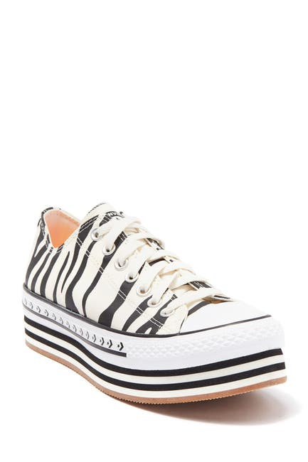 Image of Converse Chuck Taylor All Star Platform Layered Oxford Sneaker