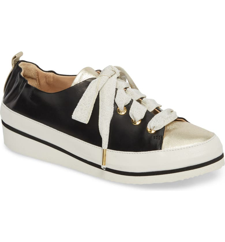 RON WHITE Nova Sneaker, Main, color, ONYX/ PLATINO