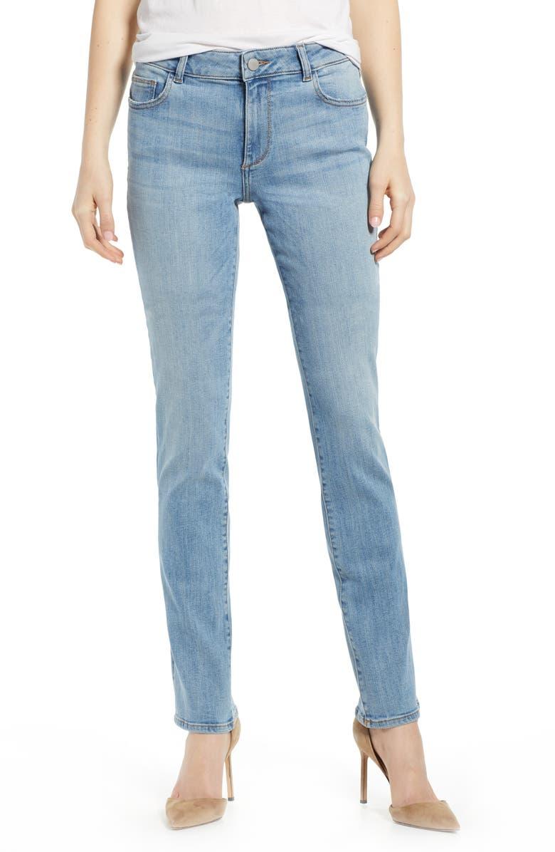 DL1961 Coco Curvy Straight Leg Jeans, Main, color, HARRIS