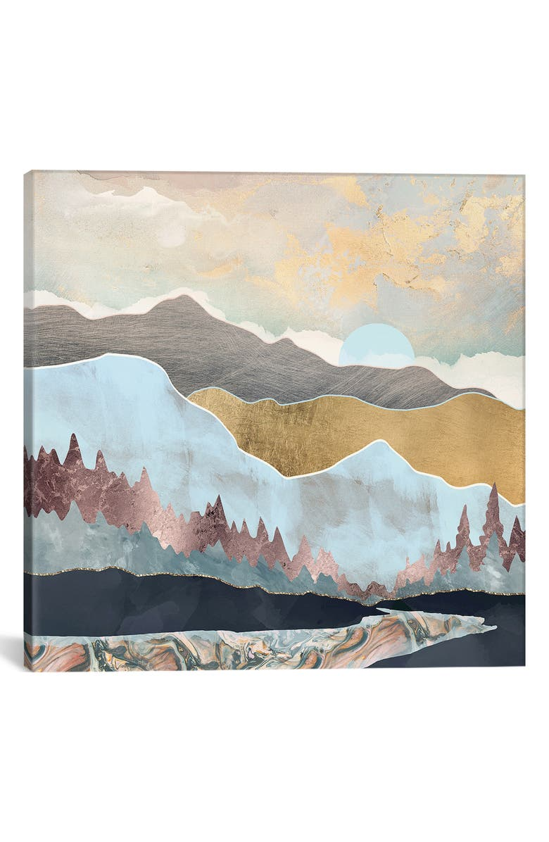 ICANVAS Winter Light by SpaceFrog Designs Giclée Print Canvas Art, Main, color, MULTI
