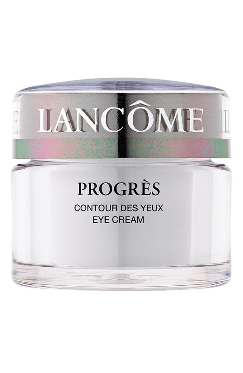 LANCÔME Progrès Eye Cream, Main, color, 000