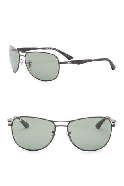 Image of Ray-Ban 59mm Polarized Aviator Sunglasses