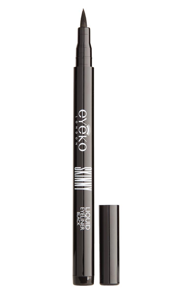 EYEKO Skinny Liquid Eyeliner, Main, color, BLACK