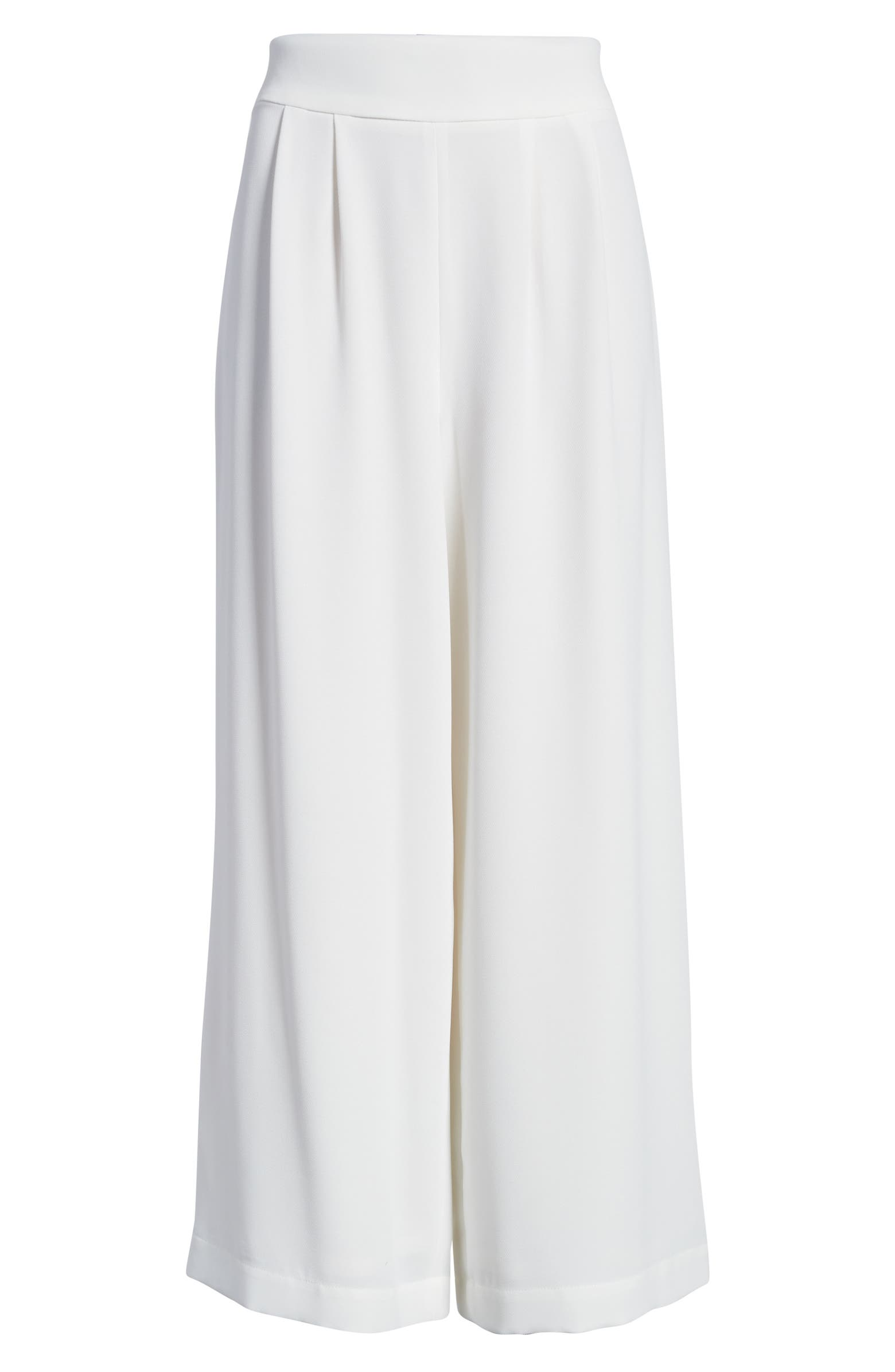 Wide Leg Crepe Trousers 1.STATE