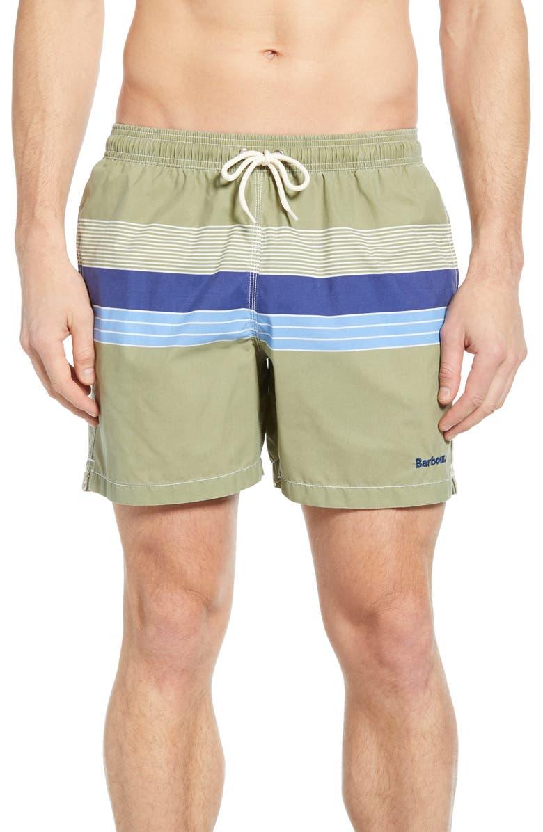BARBOUR Rydal Swim Trunks, Main, color, 340