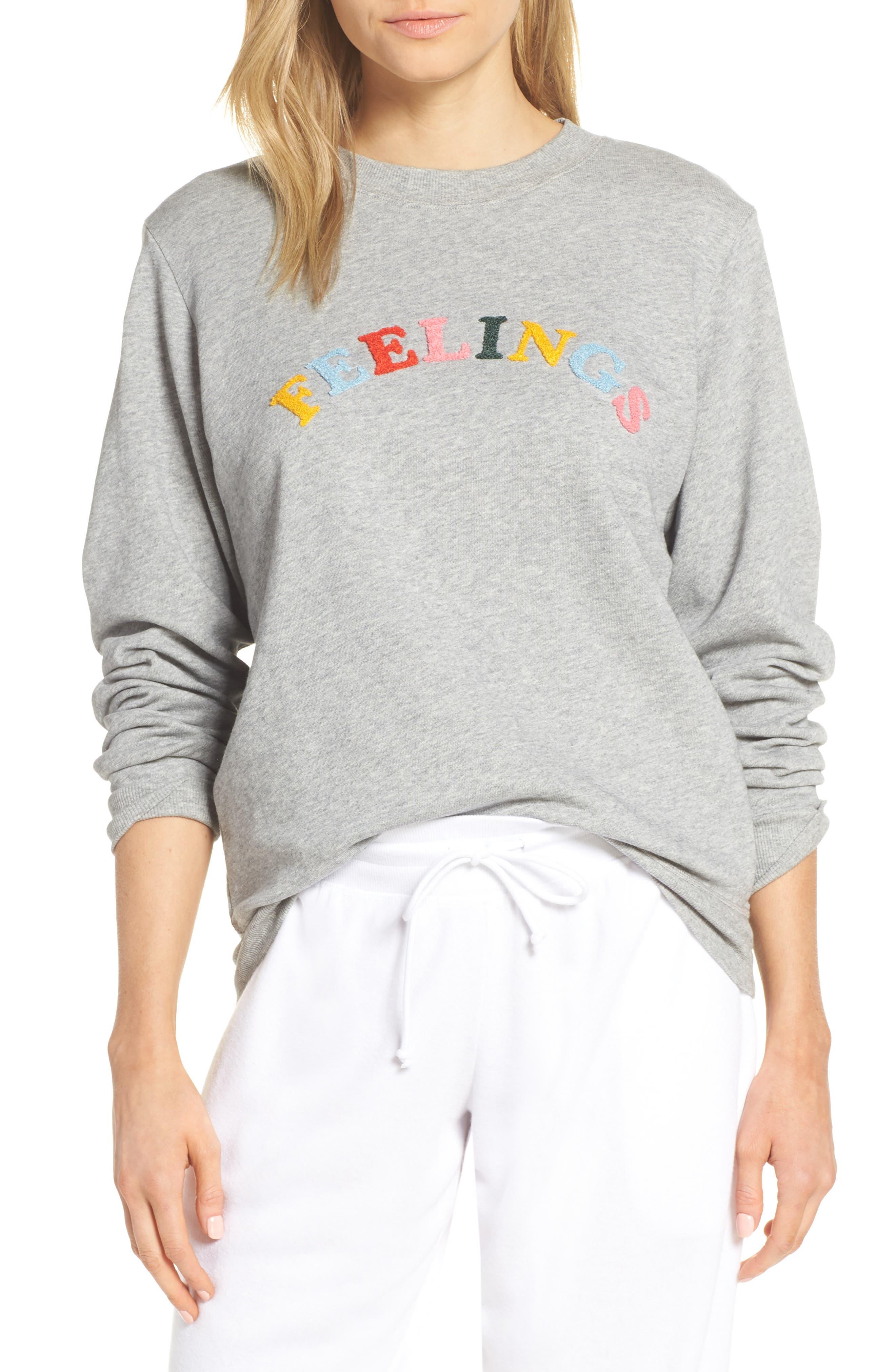 Ban. do Feelings Sweatshirt, Grey