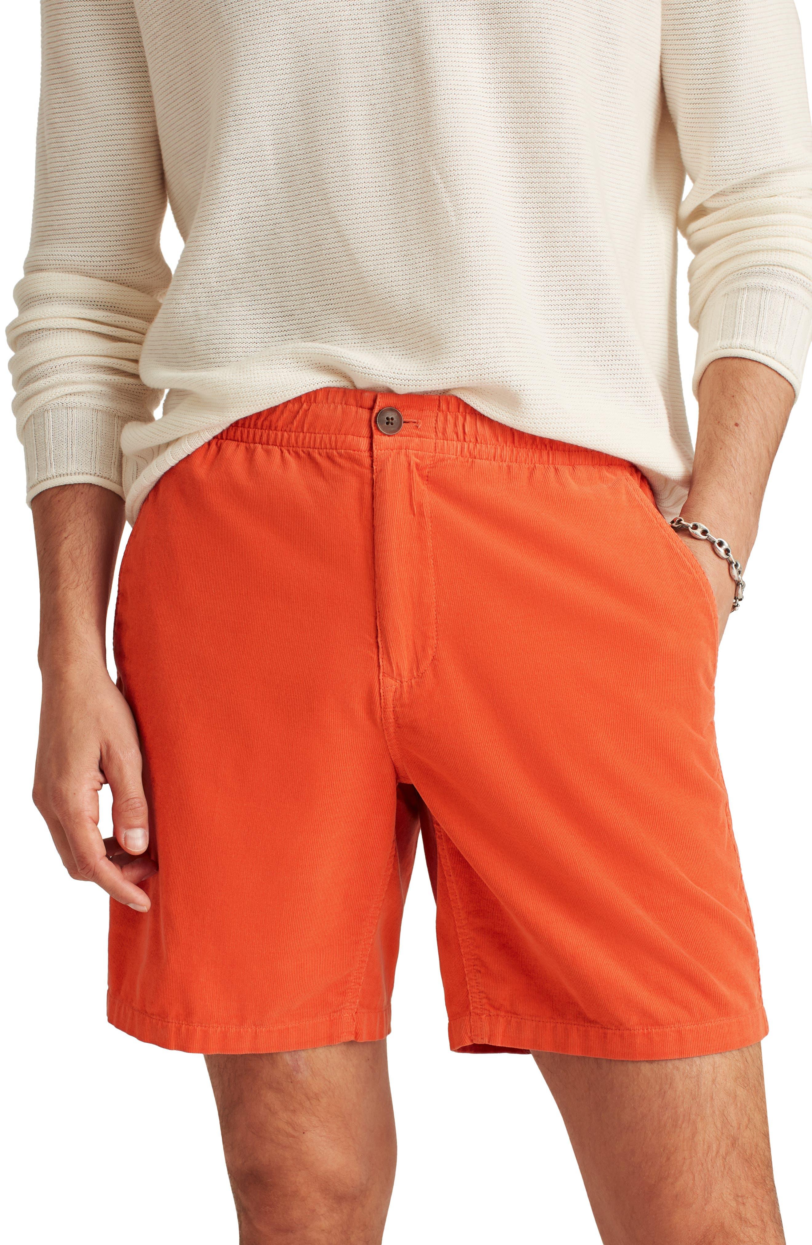 Drawstring Corduroy Club Shorts