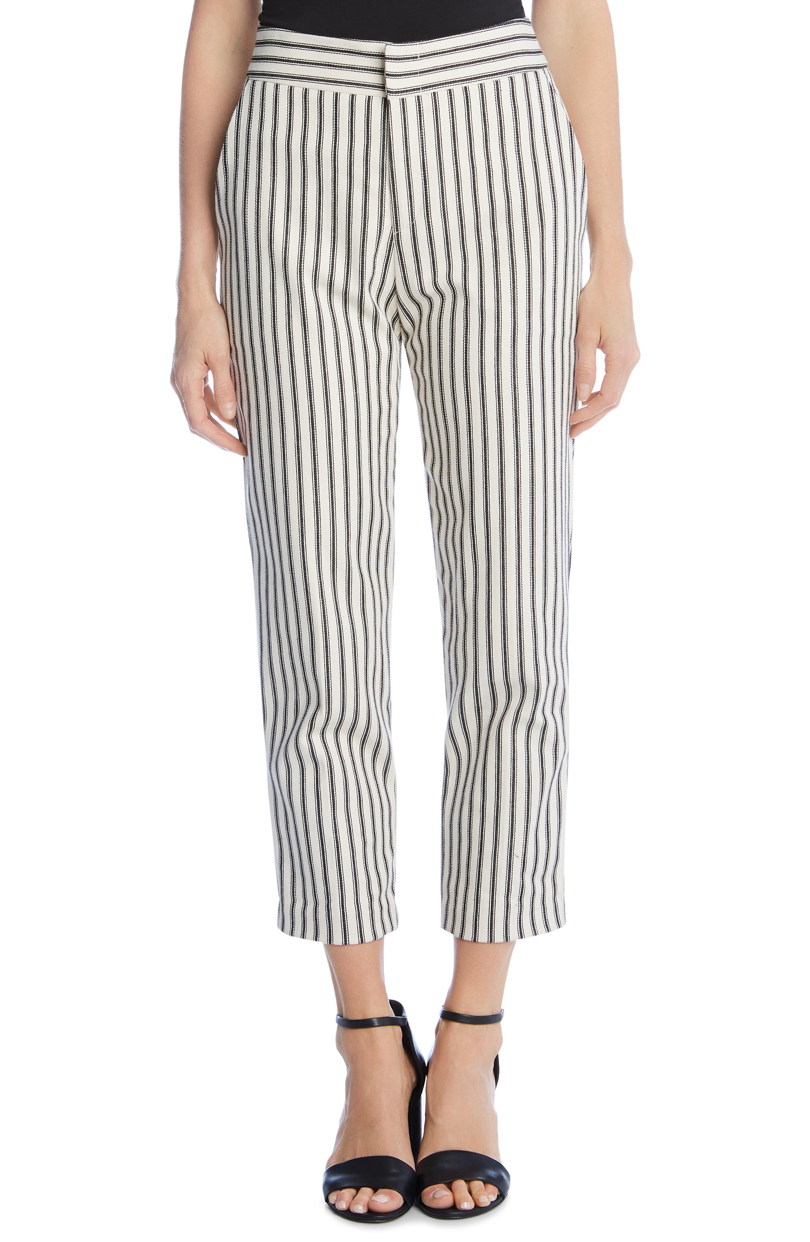 ,                             Stripe Pants,                             Main thumbnail 1, color,                             STRIPE