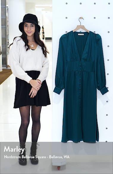 Nicola Silk Midi Dress, sales video thumbnail