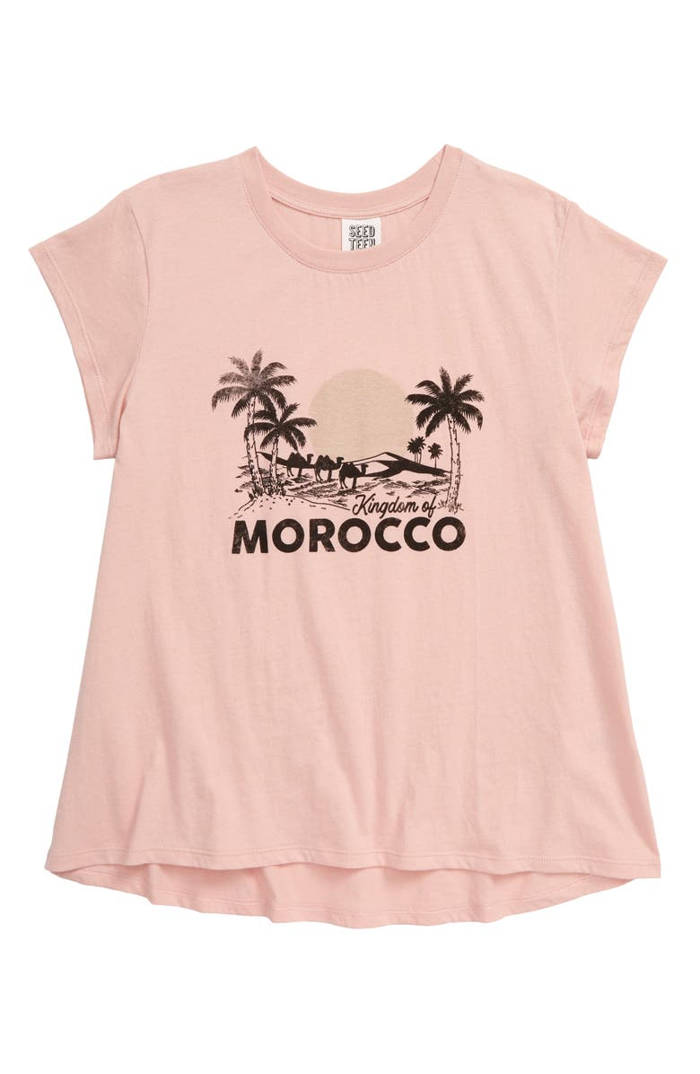 SEED HERITAGE Morocco Graphic Tee, Main, color, 650