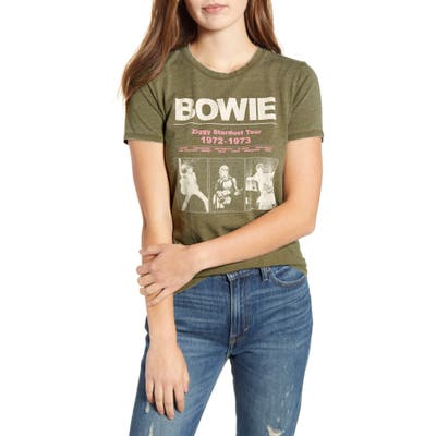 Lucky Brand Ziggy Stardust Tour Graphic Tee, Blue