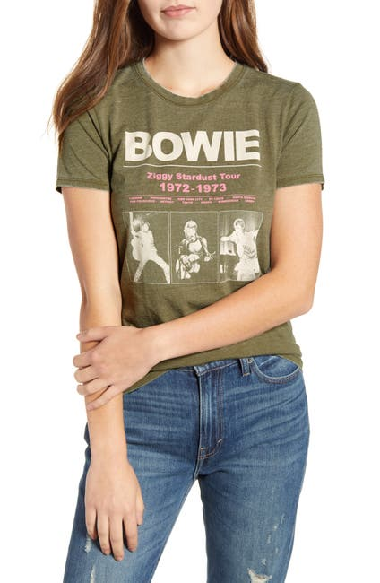 Image of Lucky Brand Bowie Stardust Tour Graphic T-Shirt