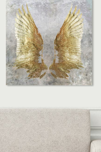 Image of Oliver Gal Gallery My Golden Wings Canvas Art