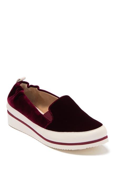 Image of RON WHITE Nell Velvet Slip-On Shoe
