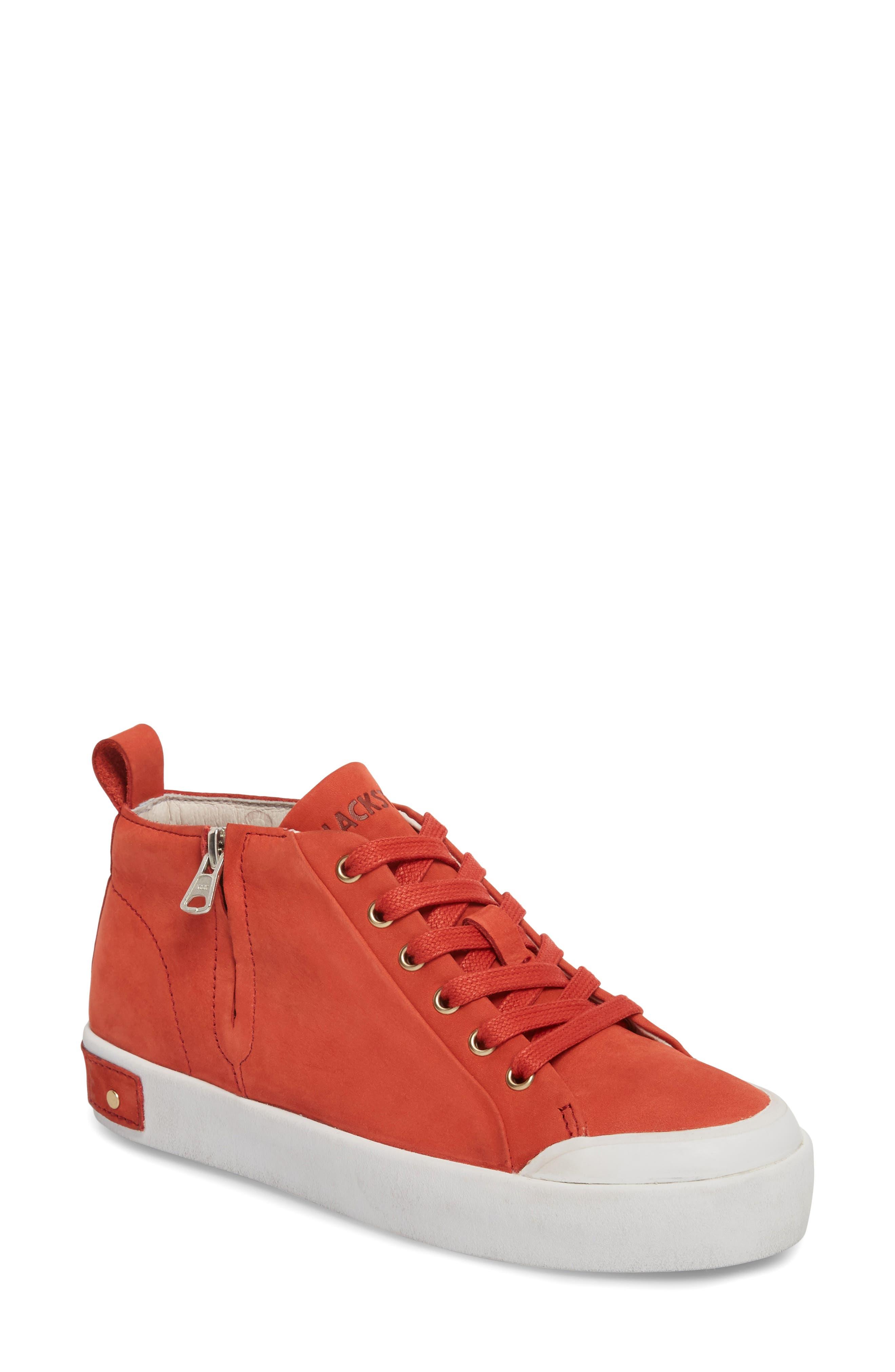 Blackstone Pl83 Mid Rise Sneaker, Red
