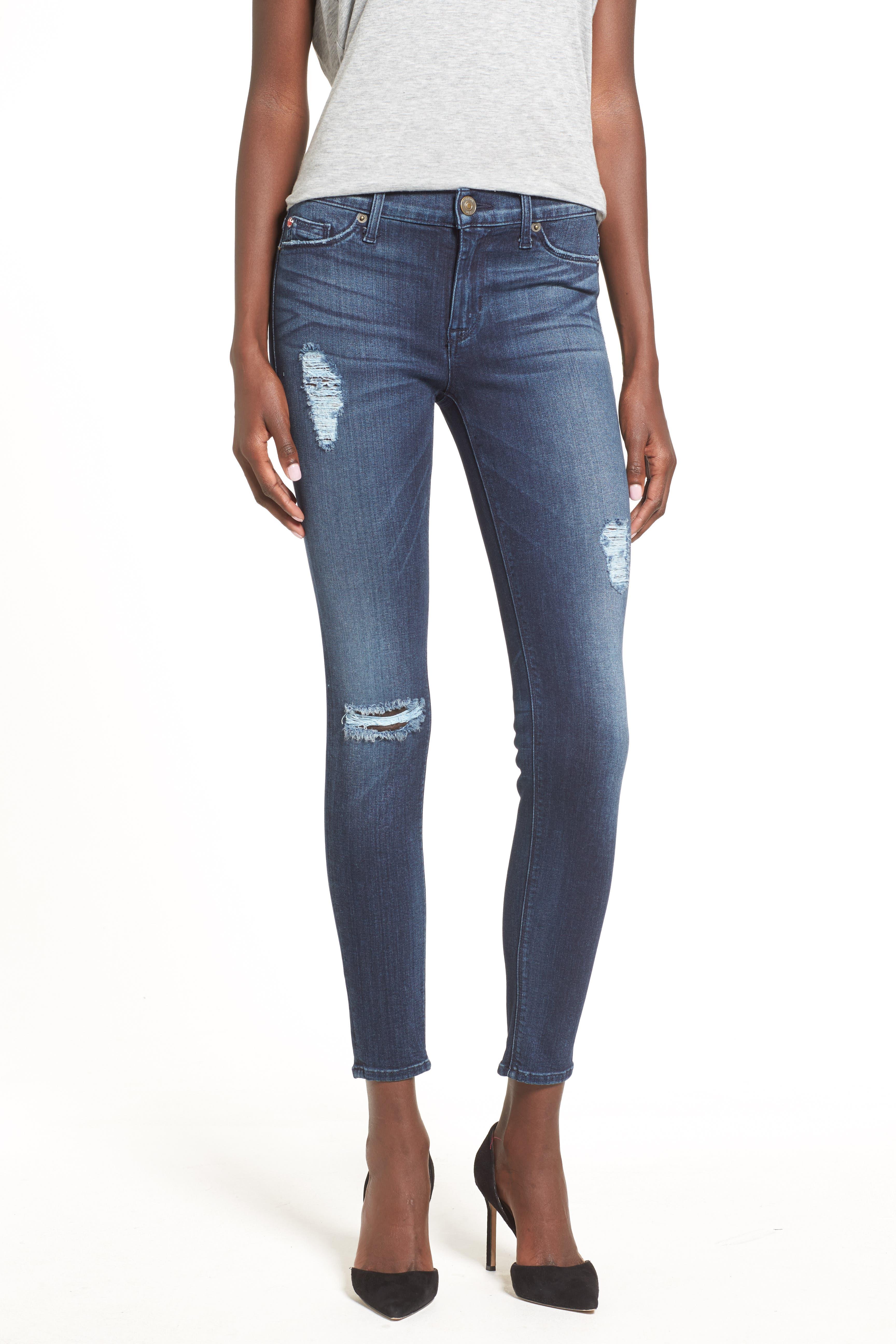 ,                             'Nico' Ankle Super Skinny Jeans,                             Alternate thumbnail 10, color,                             401