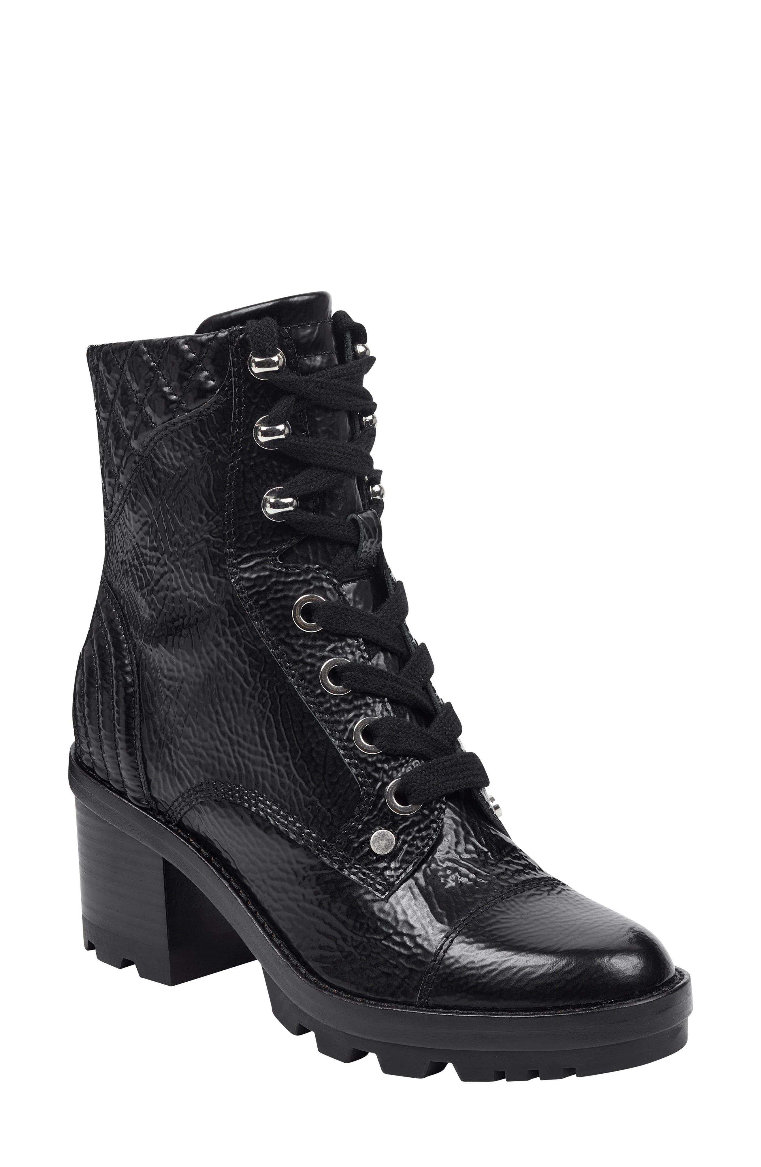 Marc Fisher Ltd Wyomi Platform Boot- Black