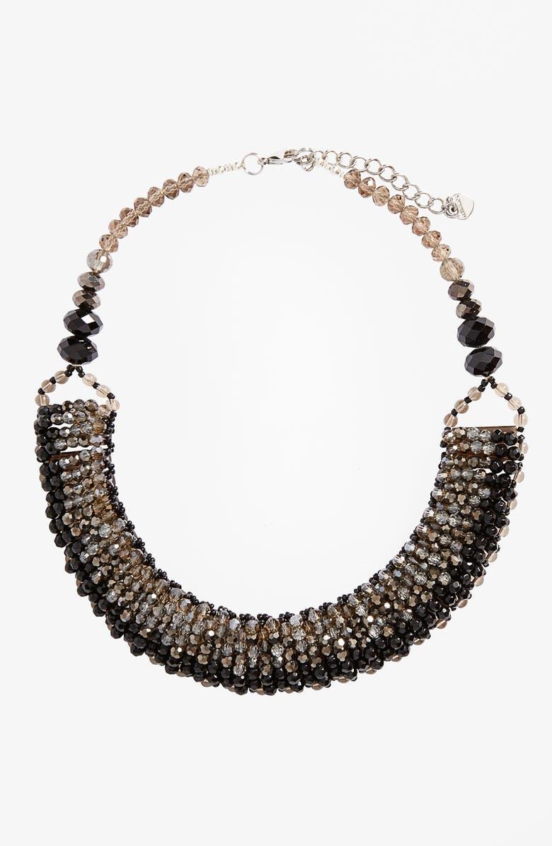 NAKAMOL CHICAGO Nakamol Design 'Half Line Couture' Collar Necklace, Main, color, 001