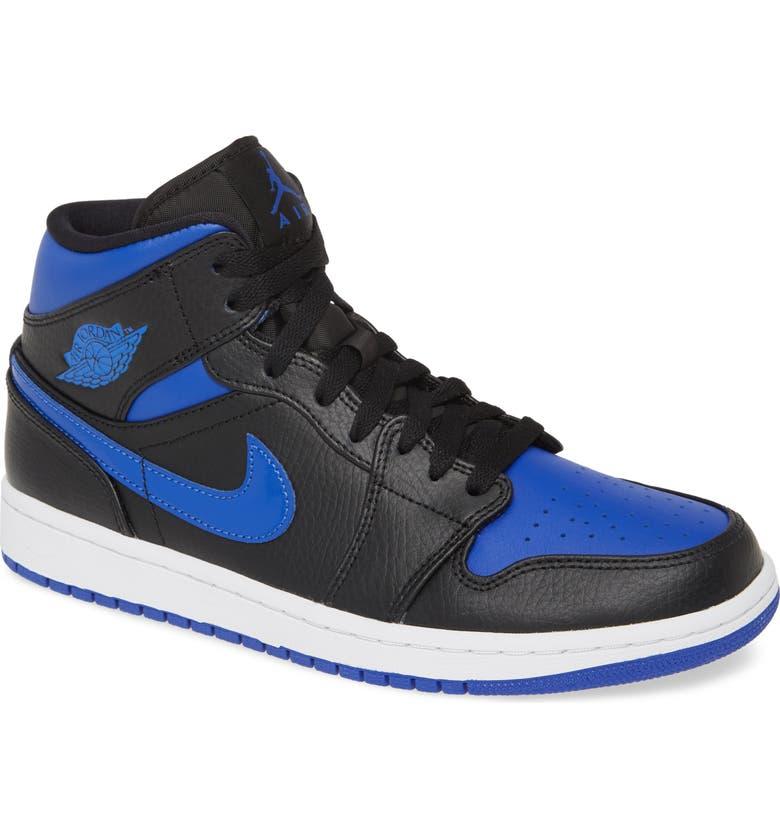 JORDAN Air Jordan 1 Mid Sneaker, Main, color, 016