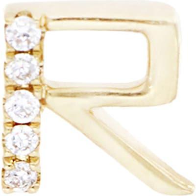 Bony Levy Diamond Initial Single Stud Earring (Nordstrom Exclusive)
