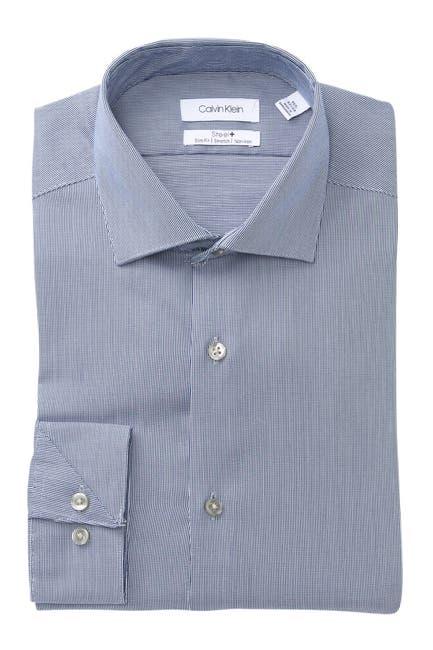 Image of Calvin Klein Antibes Slim Fit Non-Iron Dress Shirt