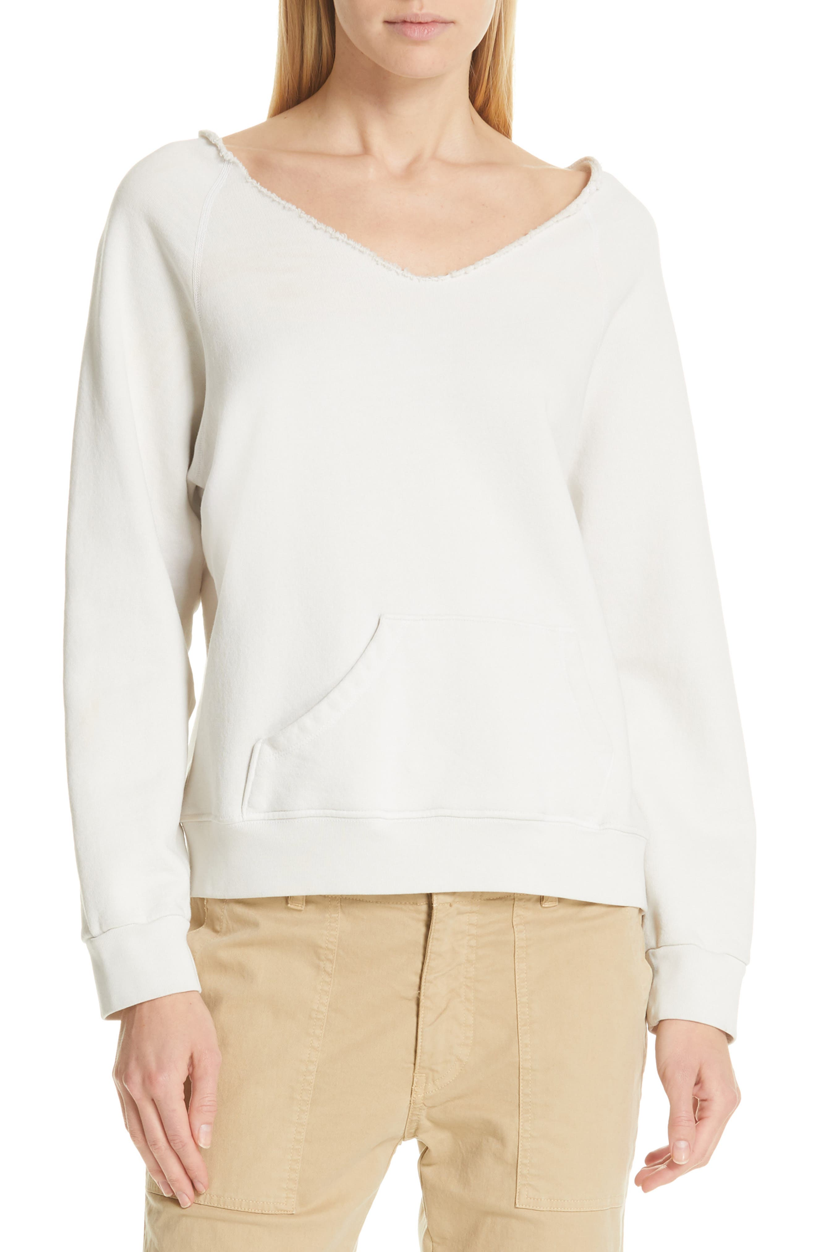 Tiara Sweatshirt, Main, color, CHALK