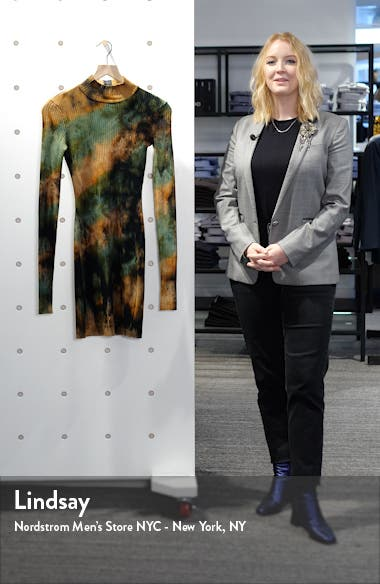 The Ibiza Tie Dye Long Sleeve Dress, sales video thumbnail