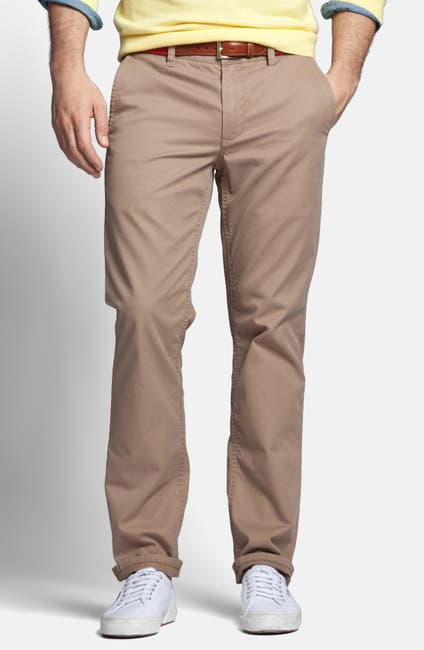 Image of Bonobos Slim Straight Leg Washed Cotton Chino Pant