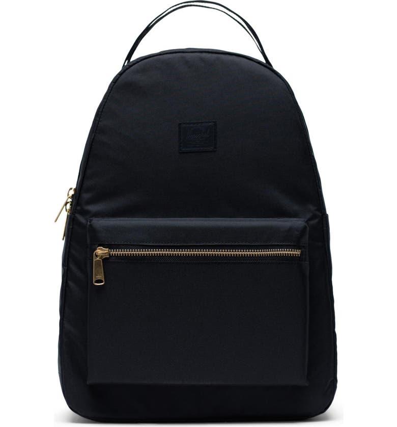 HERSCHEL SUPPLY CO. Nova Mid Volume Backpack, Main, color, BLACK