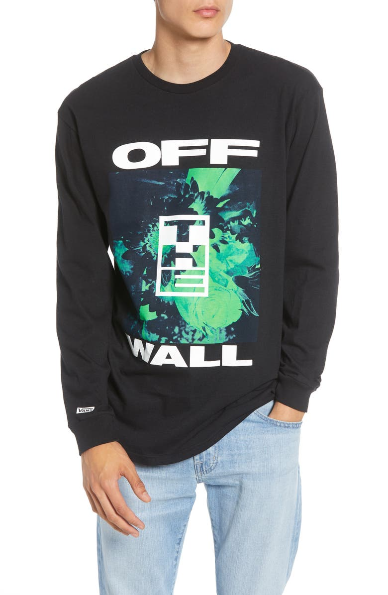 Vans Off The Wall Collage Long Sleeve T Shirt