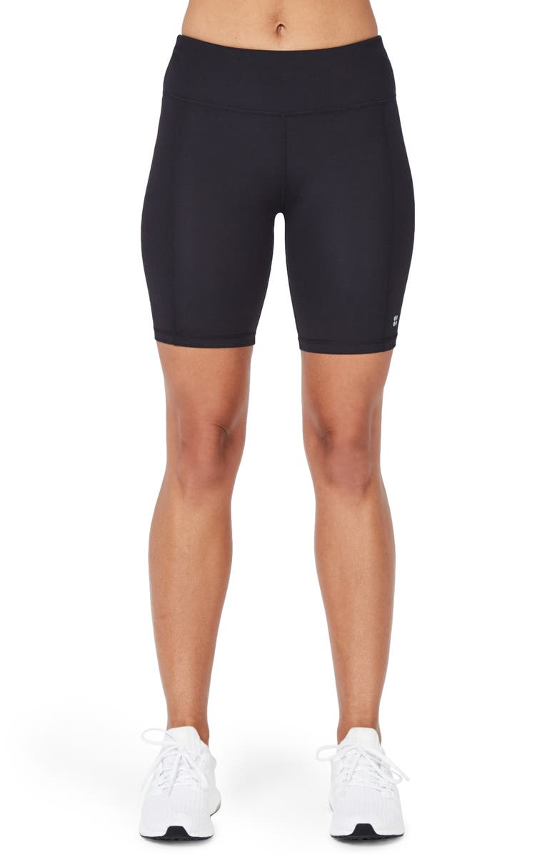 SWEATY BETTY Contour Shorts, Main, color, BLACK