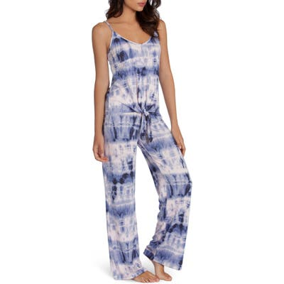 Midnight Bakery Tie Dye Pajamas, Blue