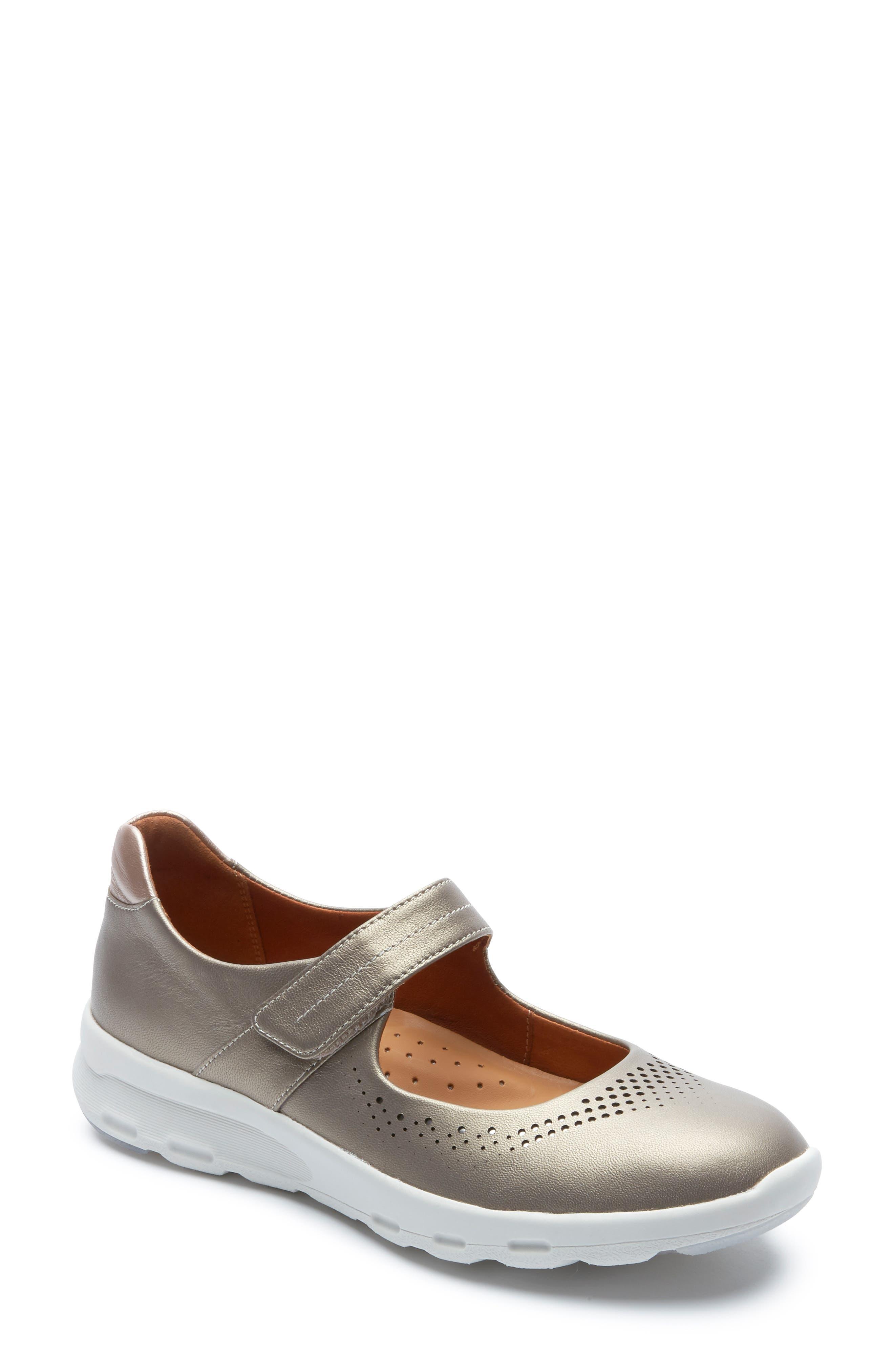 Rockport Mary Jane Walking Shoe, Grey