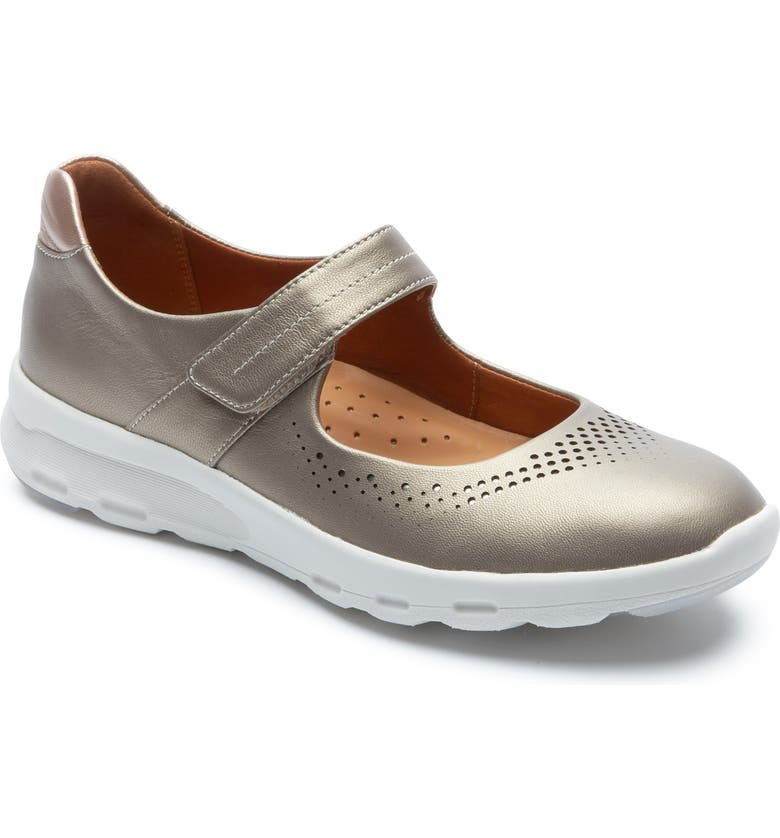 ROCKPORT Mary Jane Walking Shoe, Main, color, TAUPE LEATHER
