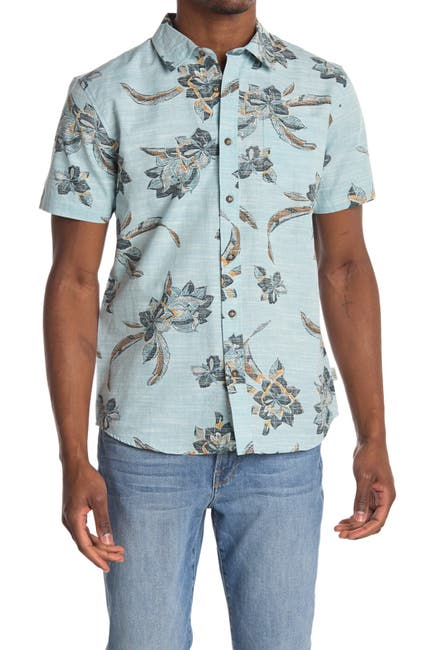 Image of Jack O'Neill Weekends Floral Printed Regular Fit Shirt