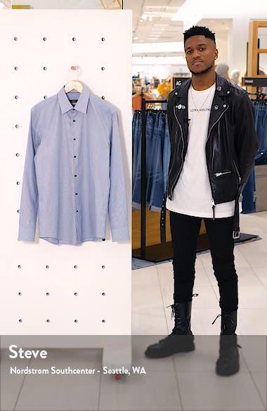 Slim Fit Stripe Dress Shirt, sales video thumbnail