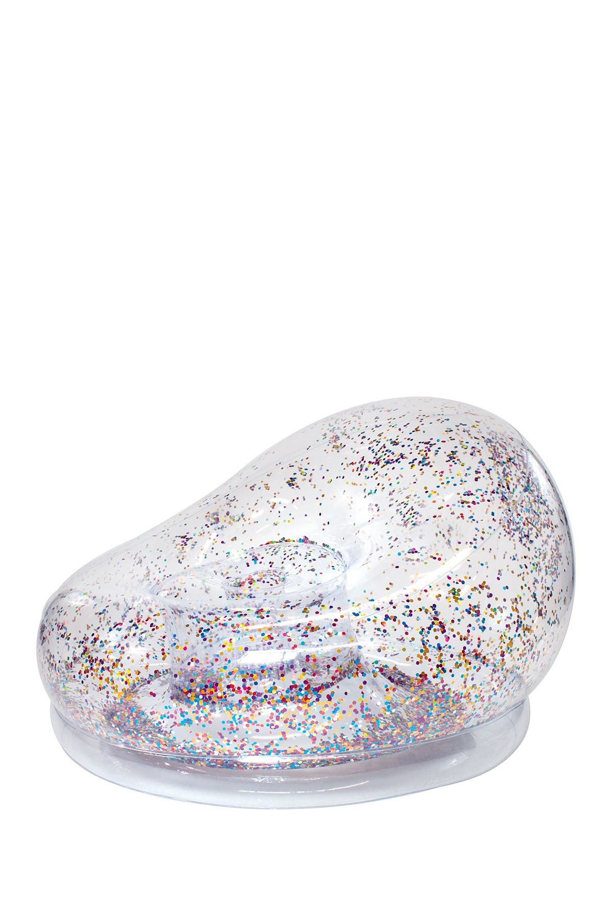 Image of POOLCANDY AirCandy Multicolor Holographic Glitter Chair
