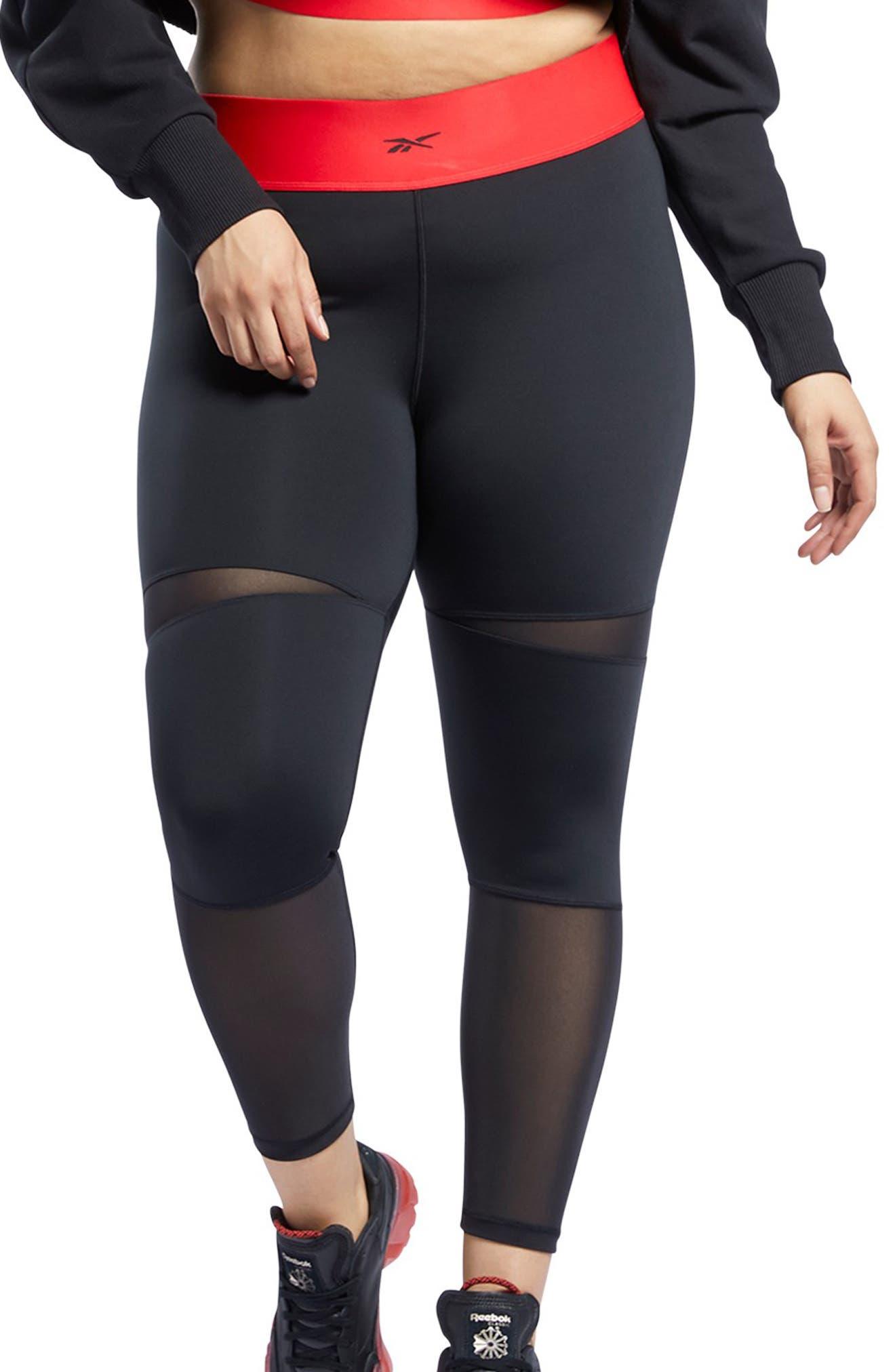Plus Size Women's Reebok X Cardi B 7/8 Leggings