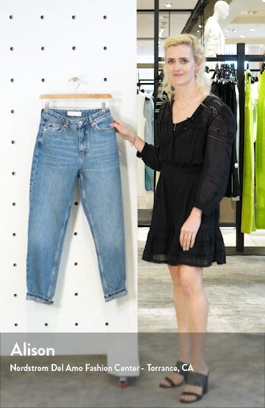 MOTO High Waist Mom Jeans, sales video thumbnail