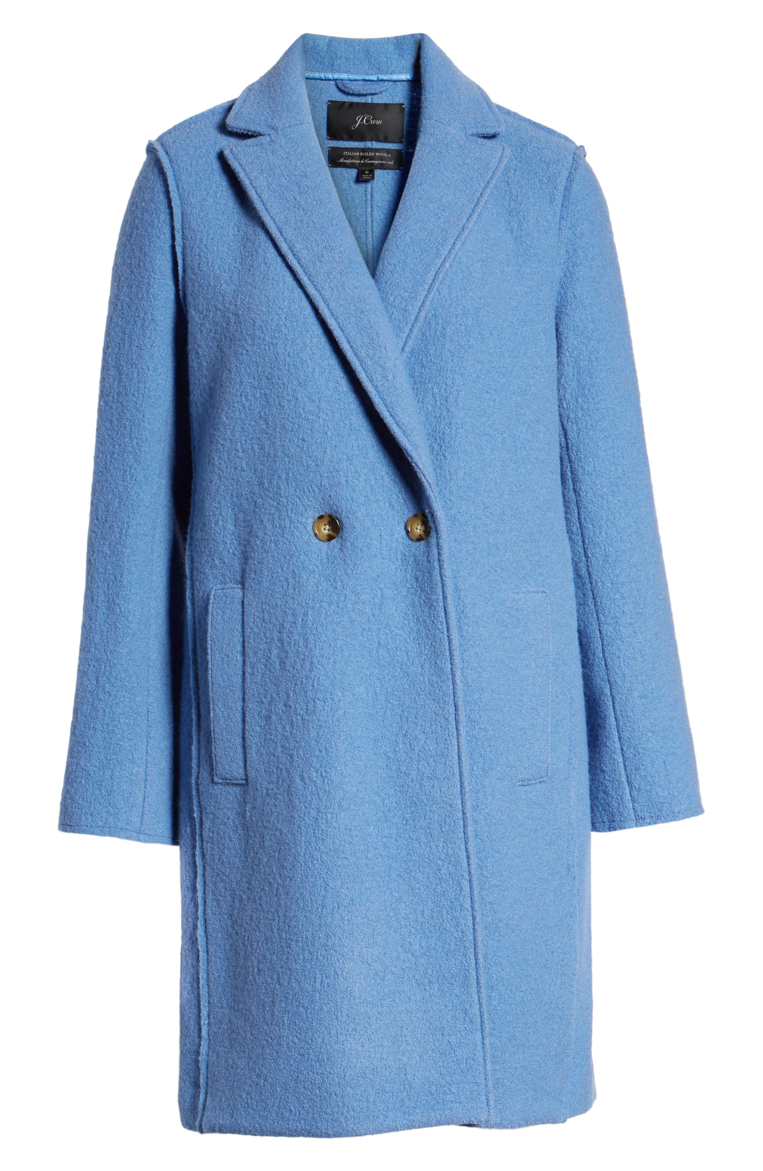 ,                             Daphne Boiled Wool Topcoat,                             Alternate thumbnail 31, color,                             405