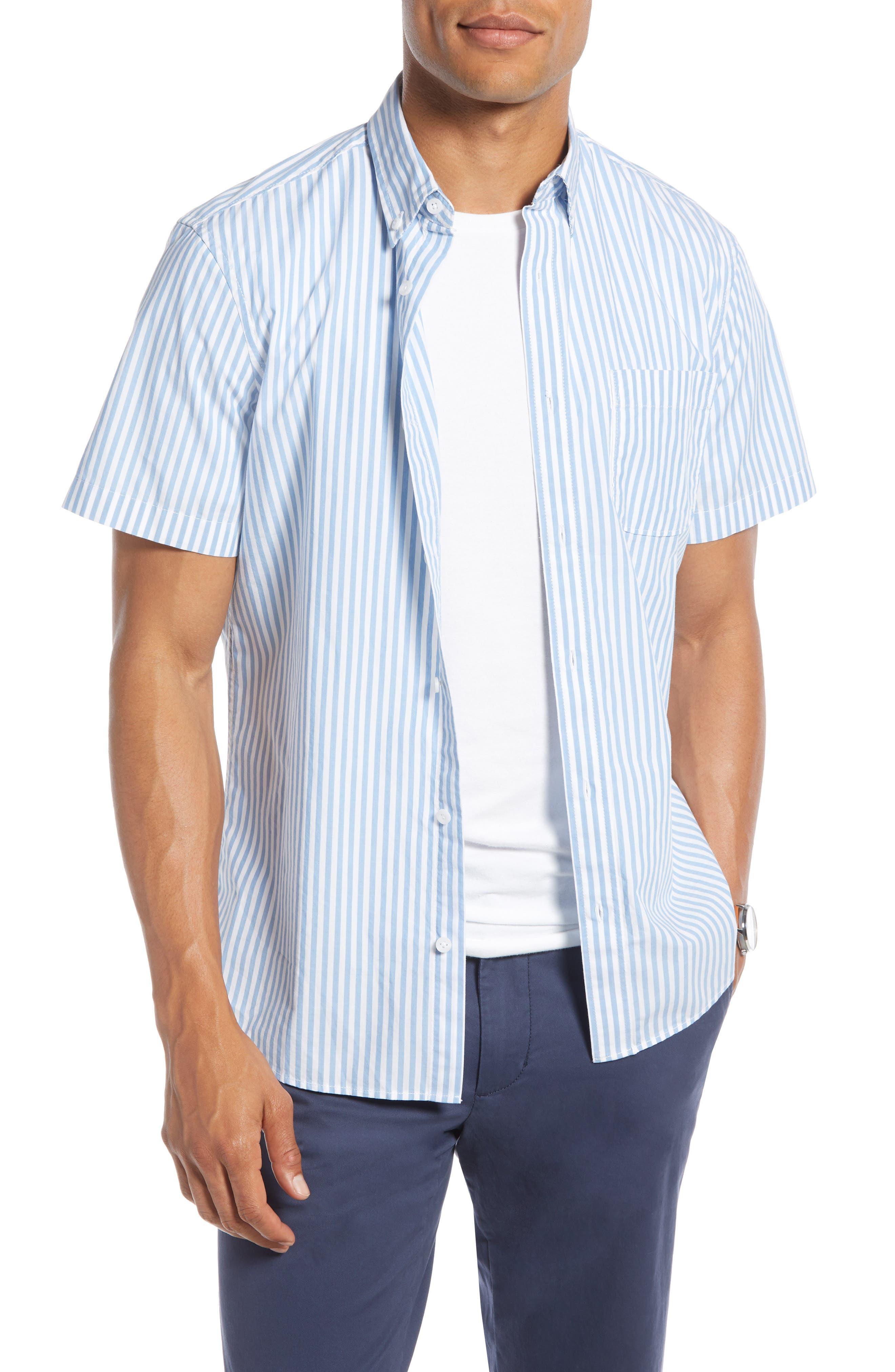 1901 Stripe Slim Fit Sport Shirt