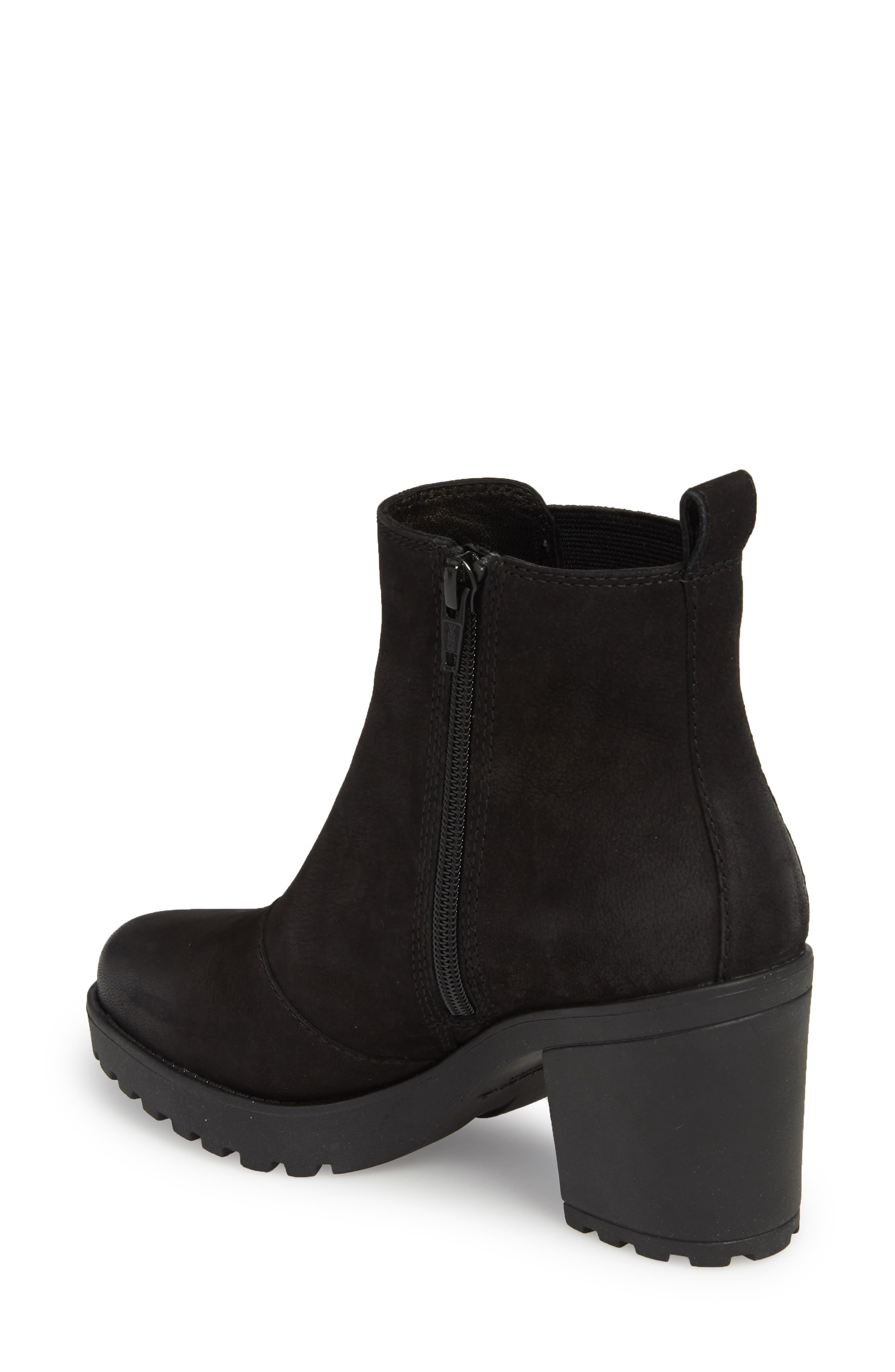 ,                             Grace Chelsea Bootie,                             Alternate thumbnail 2, color,                             BLACK NUBUCK