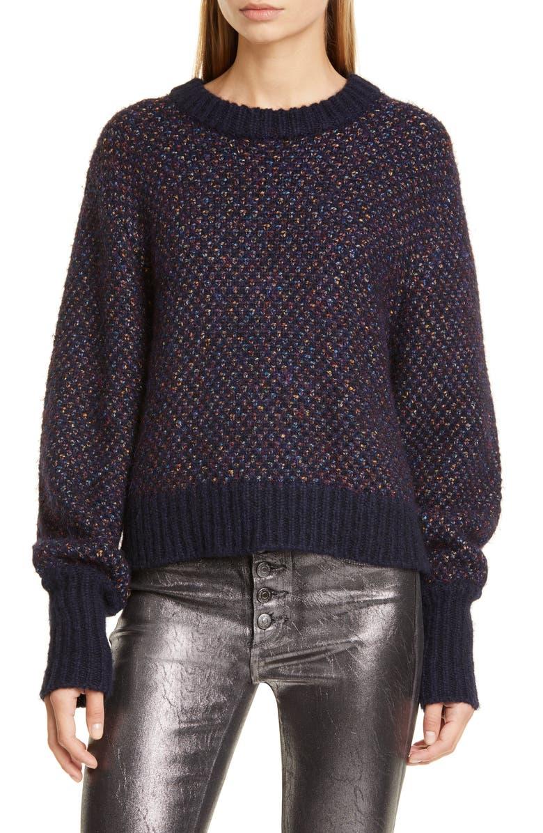 VERONICA BEARD Beckia Knit Sweater, Main, color, 415