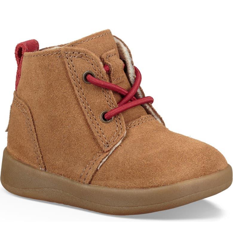UGG<SUP>®</SUP> Kristjan Chukka Sneaker, Main, color, CHESTNUT BROWN