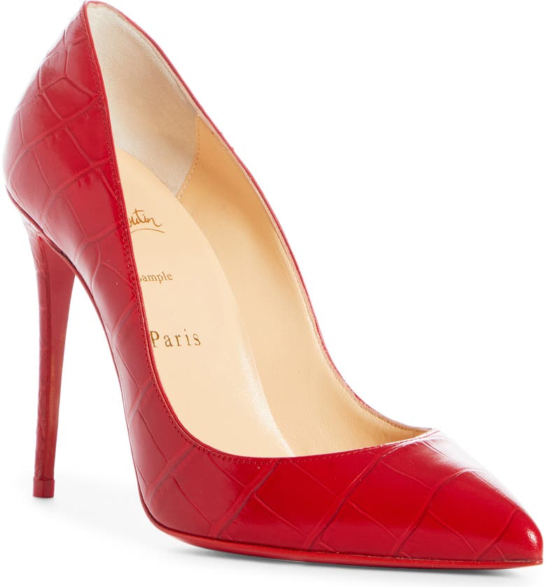 CHRISTIAN LOUBOUTIN Pigalle Pointed Toe Pump, Main, color, LOUBI