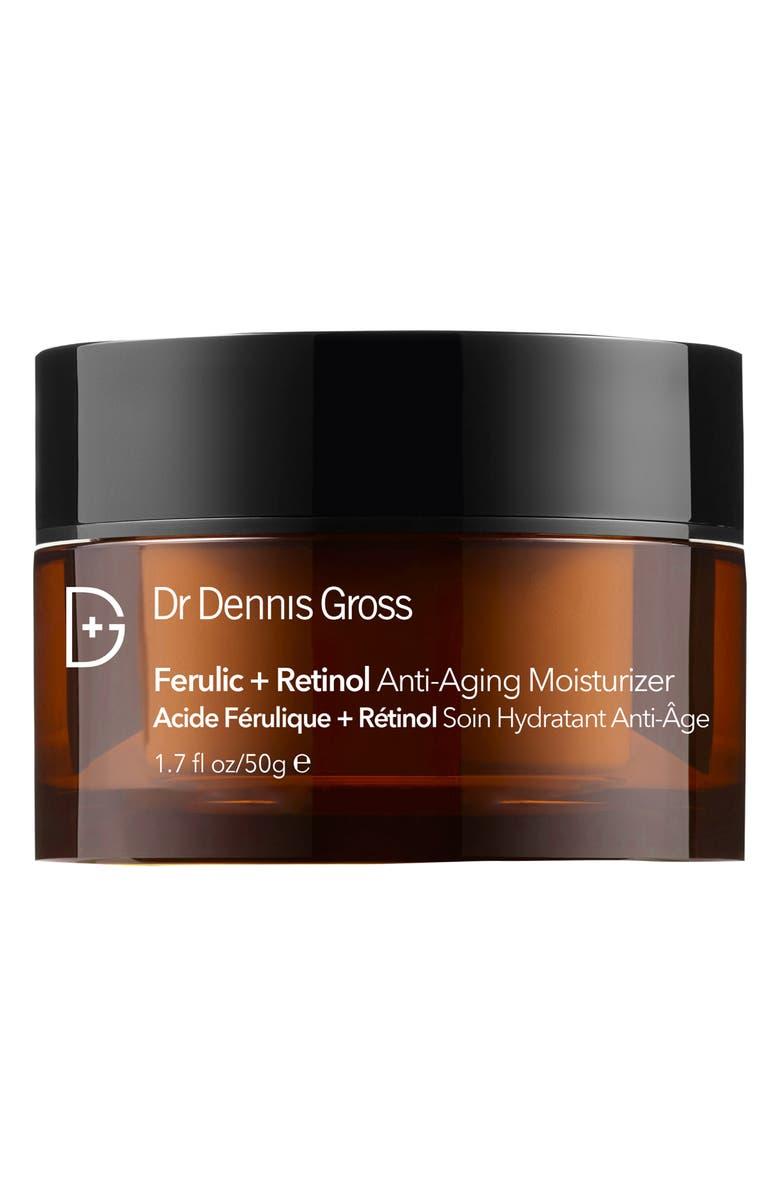 DR. DENNIS GROSS Skincare Ferulic + Retinol Anti-Aging Moisturizer, Main, color, No Color