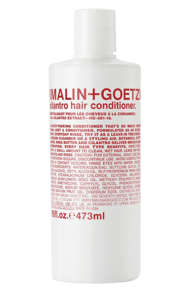 MALIN+GOETZ Cilantro Hair Conditioner, Main, color, NO COLOR