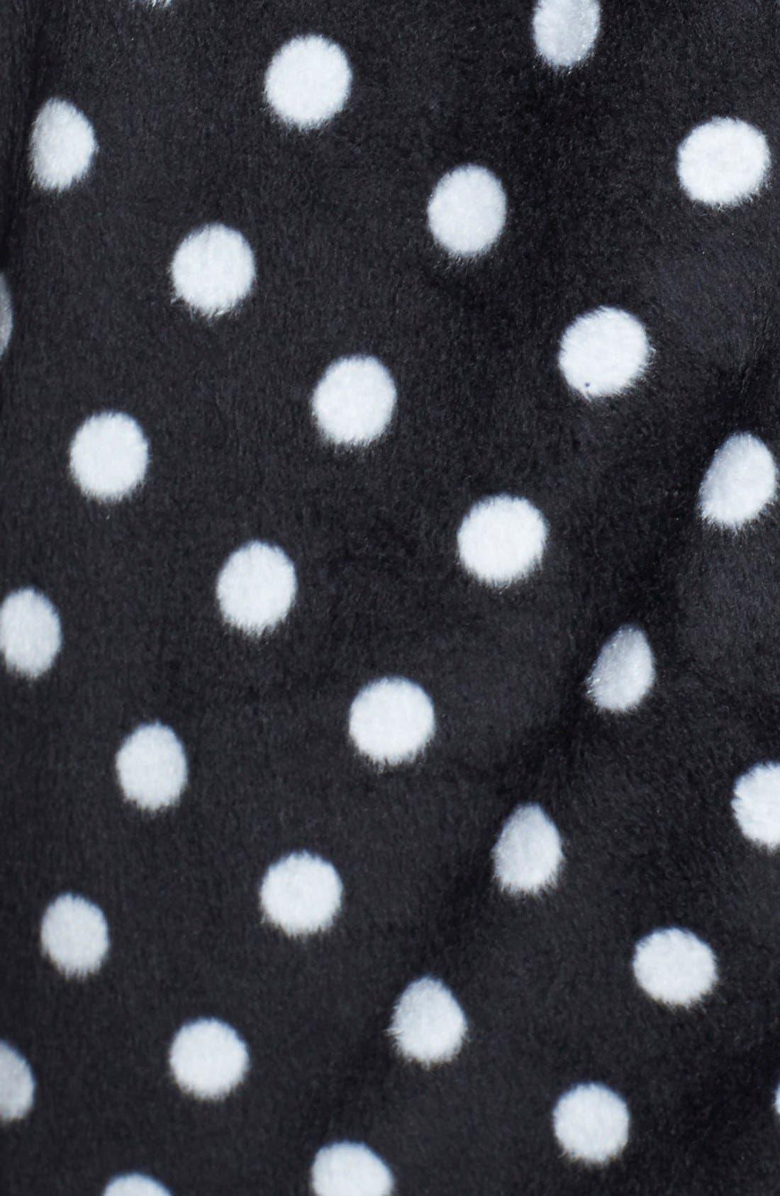 ,                             Long Sleeve Microfleece Pajamas,                             Alternate thumbnail 3, color,                             001